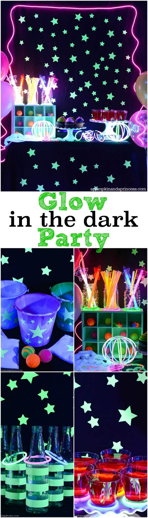 Old Hollywood Home Decor by Glow In The Dark Party A Pumpkin And A Princess