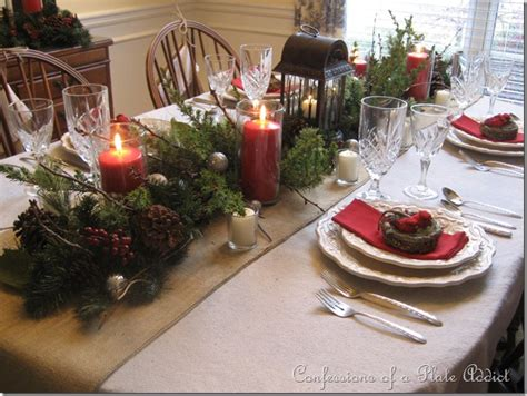 confessions of a plate addict my rustic christmas
