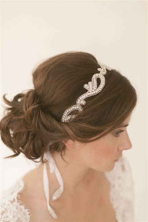Wedding Hair With Headband by Wedding Updo Hairstyles With Headband Www Imgkid