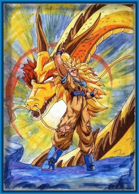 imagenes de goku dragon ball z dibujos de dragon ball z de goku ssj archivos imagenes