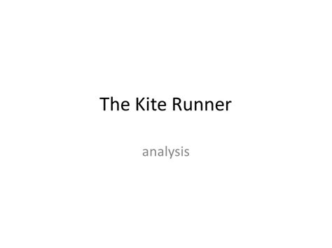 recurring themes in kite runner the kite runner analysis ppt video online download