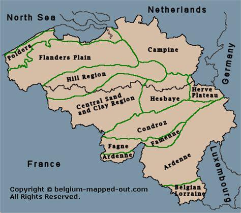 map of belgium regions the geographic regions belgium images frompo