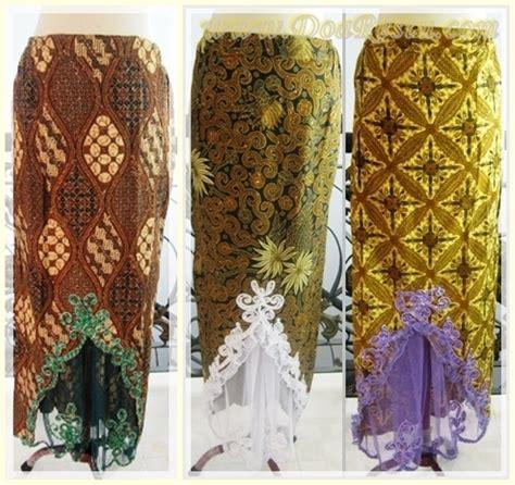 Stelan Pdk Rok Tile Ungu jual rok batik prada rumbai tile bordir payet bawahan kebaya wisuda pesta putri mode di