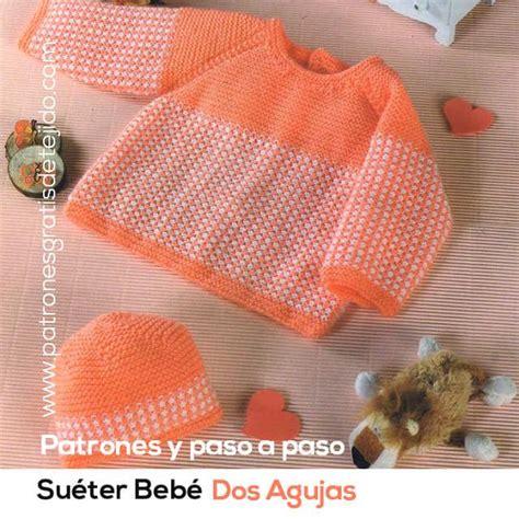 batita de bebe en dos agujas batita tejida a dos agujas para bebe de 0 a 3 meses