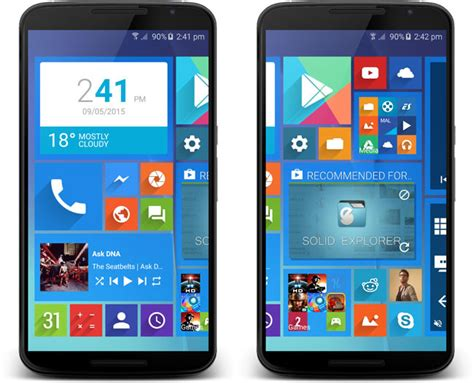 windows launcher for android wlauncher is the launcher inspired by windows 10 that want to in your android phoneia
