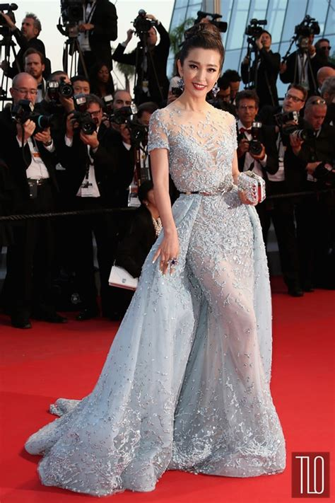 Carpet Clothes From Gorgeous Couture by Cannes 2015 Li Bingbing In Zuhair Murad Couture Tom