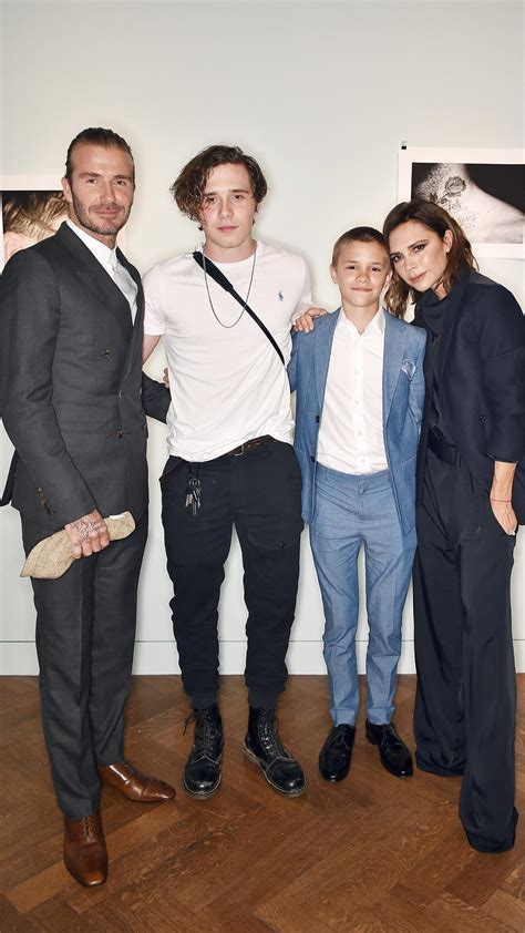 Ralph Exploits Beckham Children by Beckham Launches His Photo Book