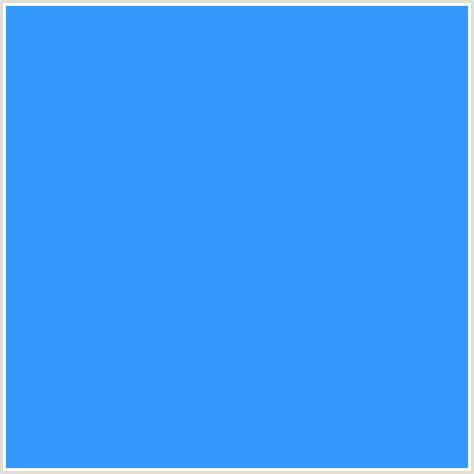 dodger blue 3399ff hex color rgb 51 153 255 blue dodger blue