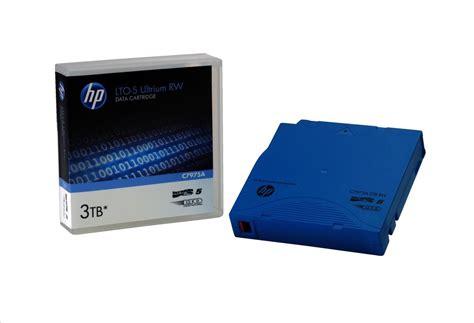 Hp Lto 5 Ultrium Rw 3tb hp 1 5 3tb 2 1 compression 846m 280mb s lto 5 rw ultrium data cartridge blue c7975a