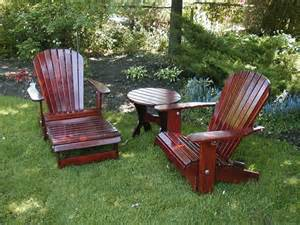 Turned your adirondack chair into a comfortable and relaxing lounge
