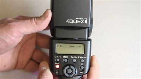 Canon Flash 430ex Ii Hitam canon 430ex ii speedlite flash