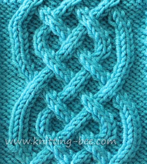 free patterns for knitting celtic cable knitting pattern free knitting bee
