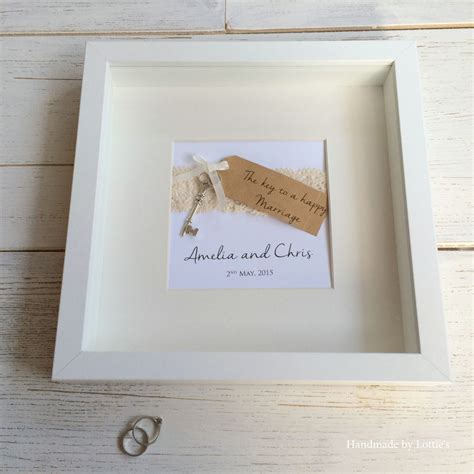 Wedding Gift Photo Frame by Unique Wedding Gift Handmade Wedding Picture