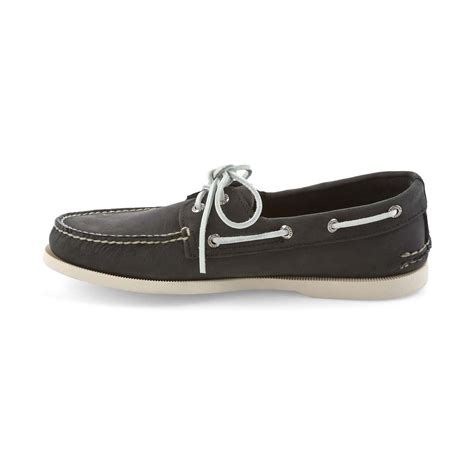sperry mens authentic original 2 eye boat shoe black