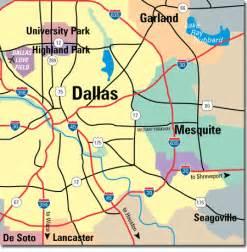 mesquite map