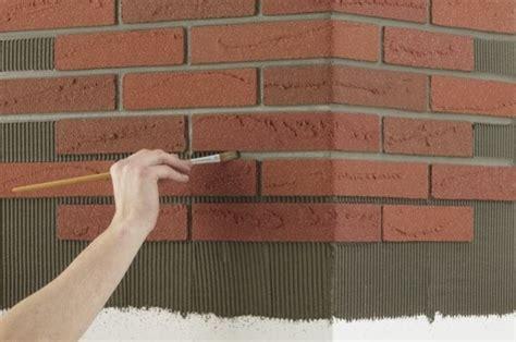 pulire mattoni camino mattoni flessibili pareti come usare i mattoni flessibili