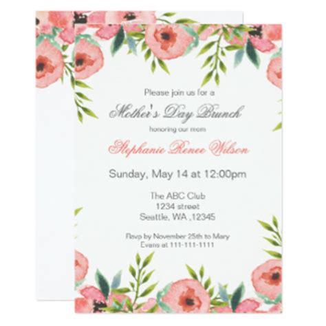 tarjeta de invitacion para el dia de los jardines invitaciones d 237 a de madres zazzle es