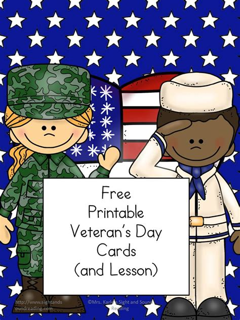 veterans day 2015 printable cards veteran s day cards for kids the homeschool village