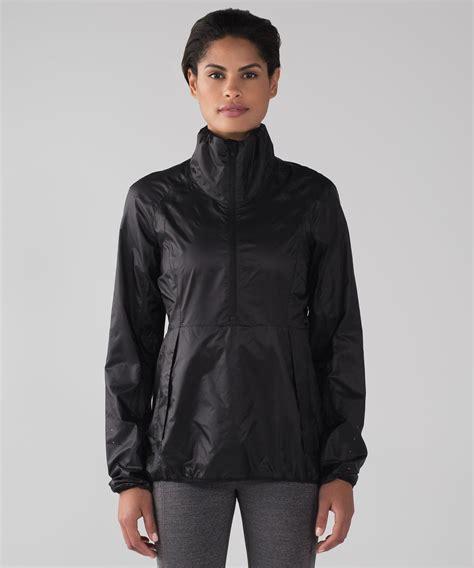 Flowink Hoodie Combi Runnink Metric Jacket Lululemon Run With It Jacket Black Lulu Fanatics