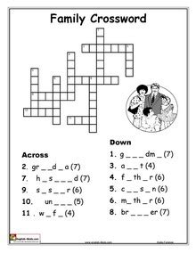 family tree exercise printable esl english vocabulary printable worksheets family and