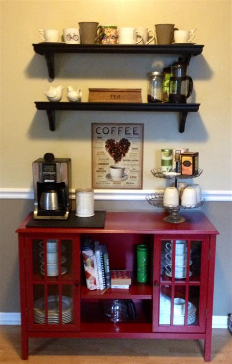 kitchen coffee tea bar crafts furniture