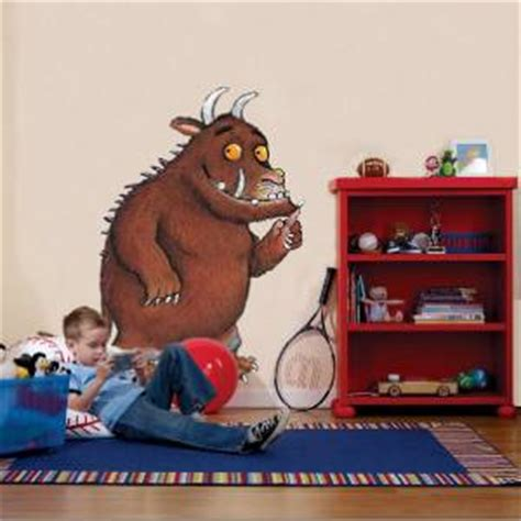 gruffalo wall stickers gruffalo decal removable wall sticker home decor chldrens book ebay