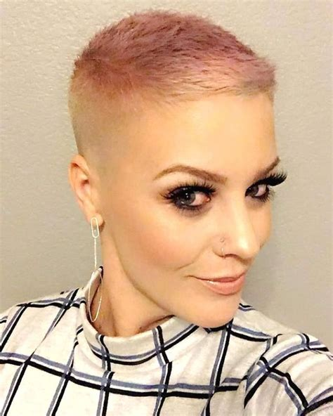 bald haircuts for women 255 best images about hair pixie buzz cuts short