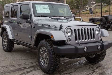 Rubicon Jeep 2015 2015 Stock Jeep Wrangler Rubicon Unlimited Billet