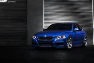 bmw f30 3 series in estoril blue photoshoot