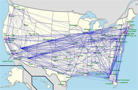 routes map citilink air routes map southwest destinations map streettruckworld throughout