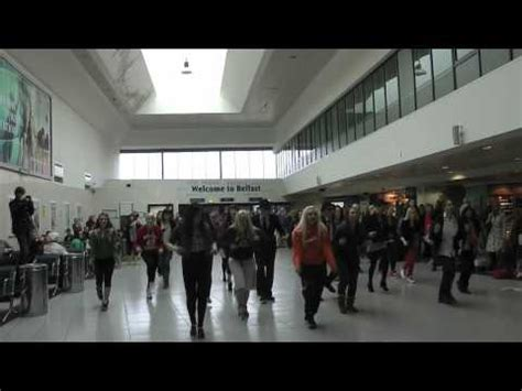 tutorial flash mob blues brothers belfast central station blues brothers flash mob 9 april
