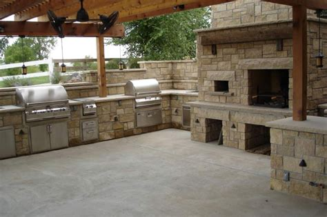 pizza oven outdoor kitchen age manufacturing the rock place