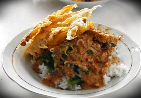 Nasi Pecel Note Of Tonight A Plate Of Pecel For Your Soul
