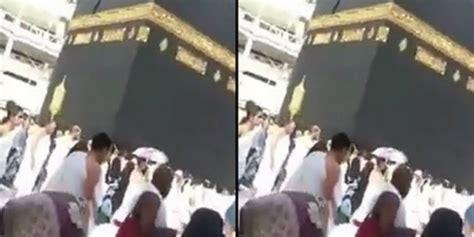doa di depan kabah suami paksa istri amini istri baru