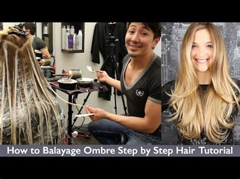 do it yourself ombre hair step by step at home balayage highlights how to save money and do it