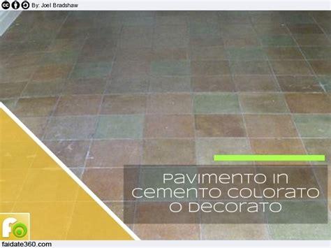 pavimenti colorati pavimenti in cemento per interni e per esterni