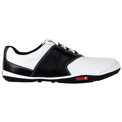 true golf shoes true linkswear true tour golf shoes white black at