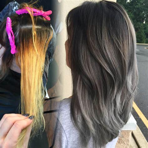 how to color hair silver using pravana color still going strong silver metallic gray career modern