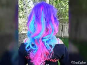 cool colors to dye your hair cool hair color styles