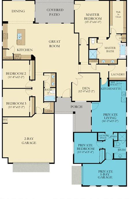 Lennar Next Gen Floor Plans | lennar next gen the home within a home floor plans
