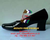 Sepatu Pdh Polwan millitary equipment sepatu dinas polri