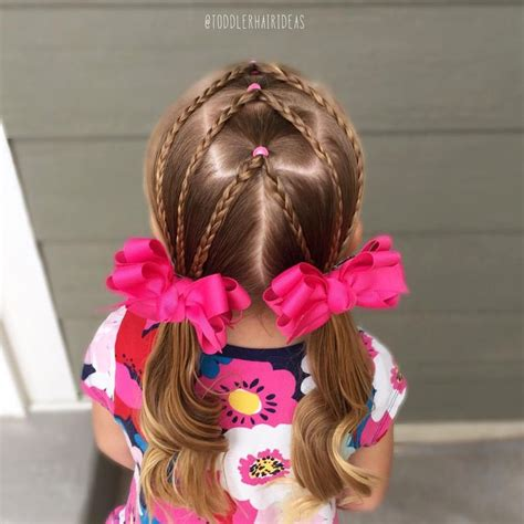 simple hairstyles with one elastic the 25 best easy toddler hairstyles ideas on pinterest