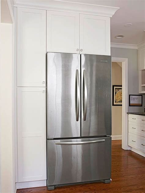 Refrigerator Placement In Galley Kitchen by Small White Kitchens Home Indoor And Outdoor Home