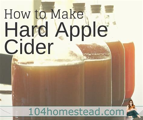 how to make apple cider at home