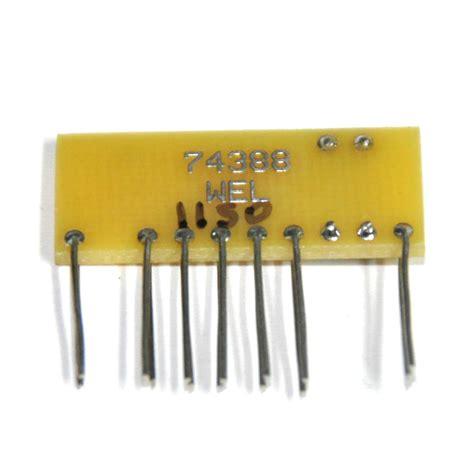 resistor divider network reproduction sinclair dm235 resistor divider network p n 23301 807 744388 wel d asaro designs