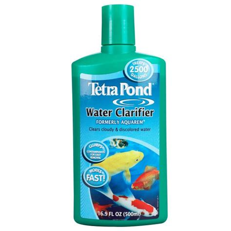 tetrapond water clarifier formerly aquarem water