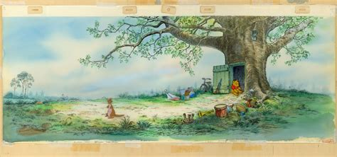christopher the tree to animation christopher robin s treehouse
