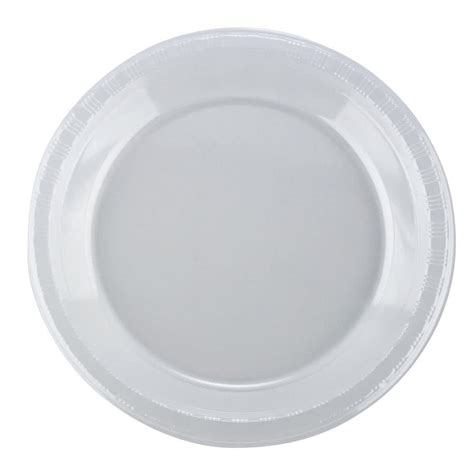 clear plastic 10 quot clear plastic plate 50 pack