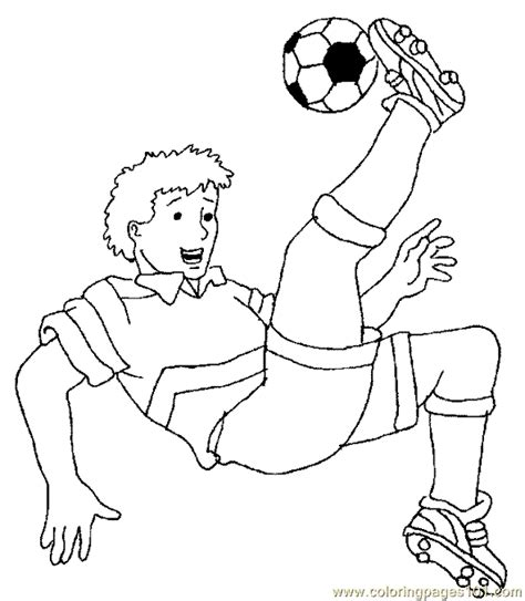 coloring page kids 8304 soccer football coloring page 03 printable coloring page