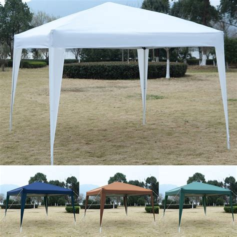 pop up awning tent 10 x 10 ez pop up canopy tent gazebo